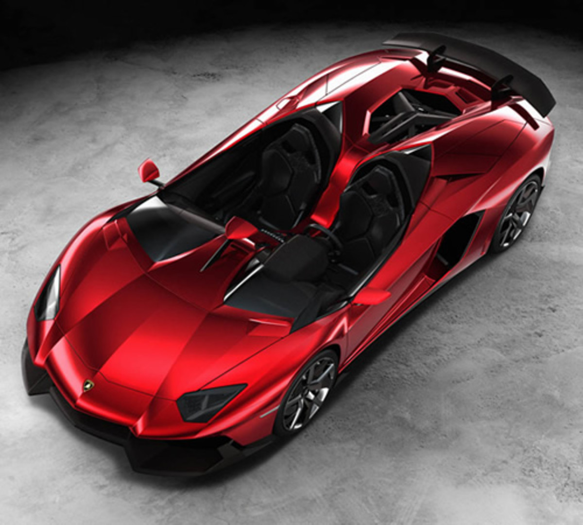 Cars Lamborghini: Lamborghini Aventador J Roadster