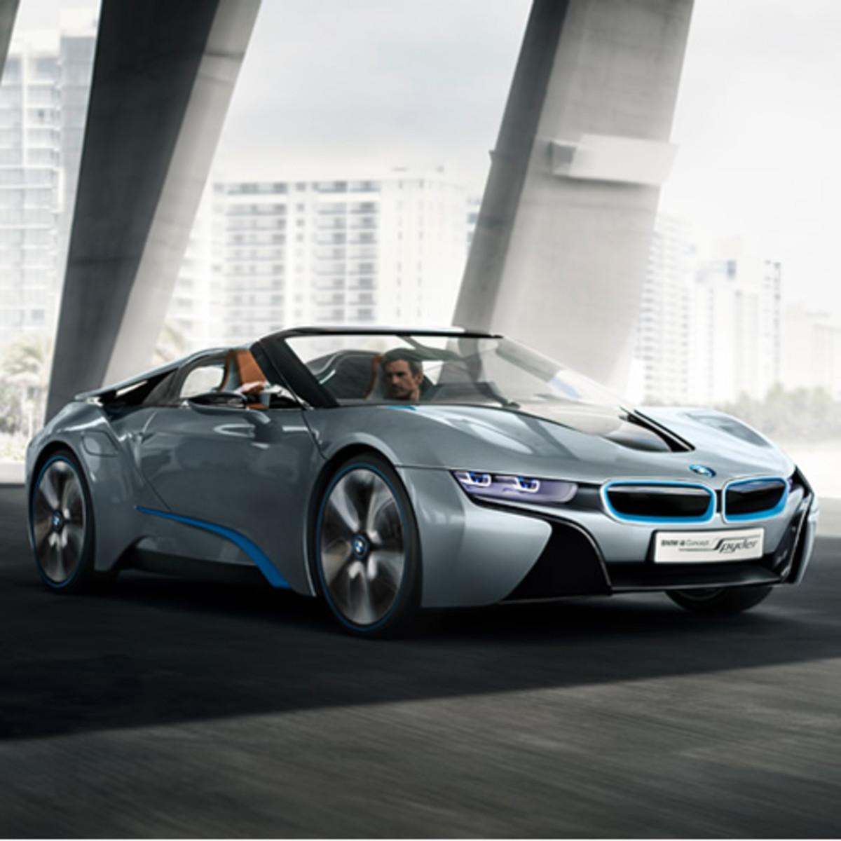 Bmw I8: BMW I8 Concept Spyder