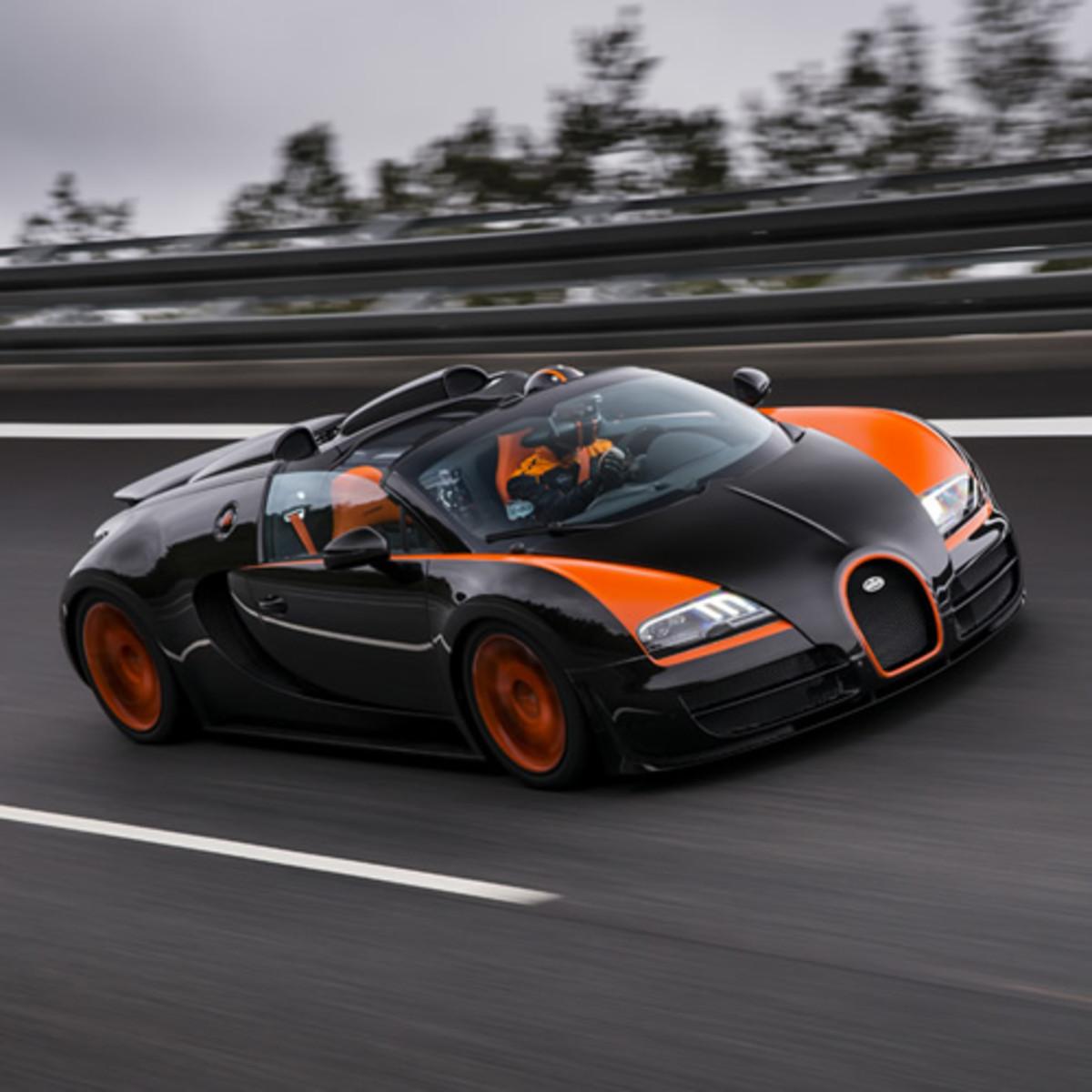 Bugatti Veyron Grand Sport Vitesse Acquire