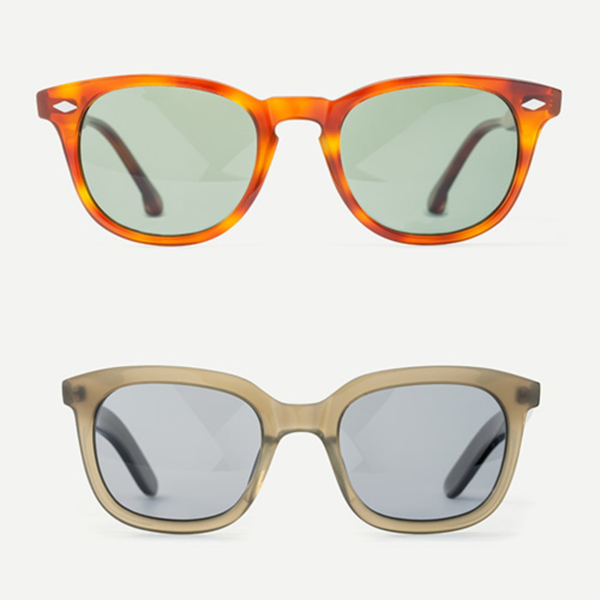 965ab75f4cf5d Pricing is  145 for sunglasses ( 245 w  prescription) and  195 for the  optical models with the prescription lens included. Steven Alan
