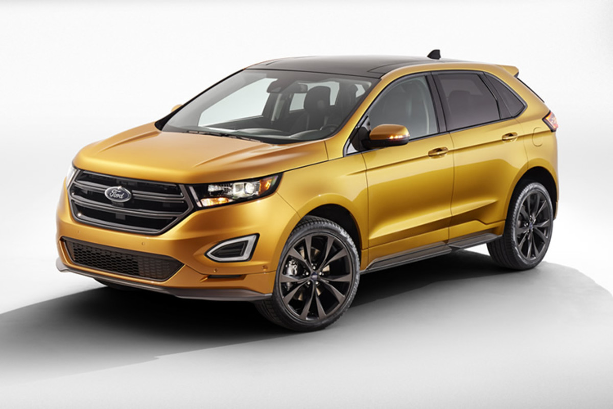 The Car That Helped Define The Crossover Segment Gets A Big Update For  With The Next Generation Ford Edge The Versatile Crossover Gets An Aggressive