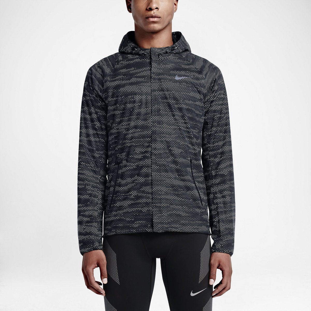 9327d42c7621f Stay visible with Nike s Shield Flash Max Running Jacket - Acquire