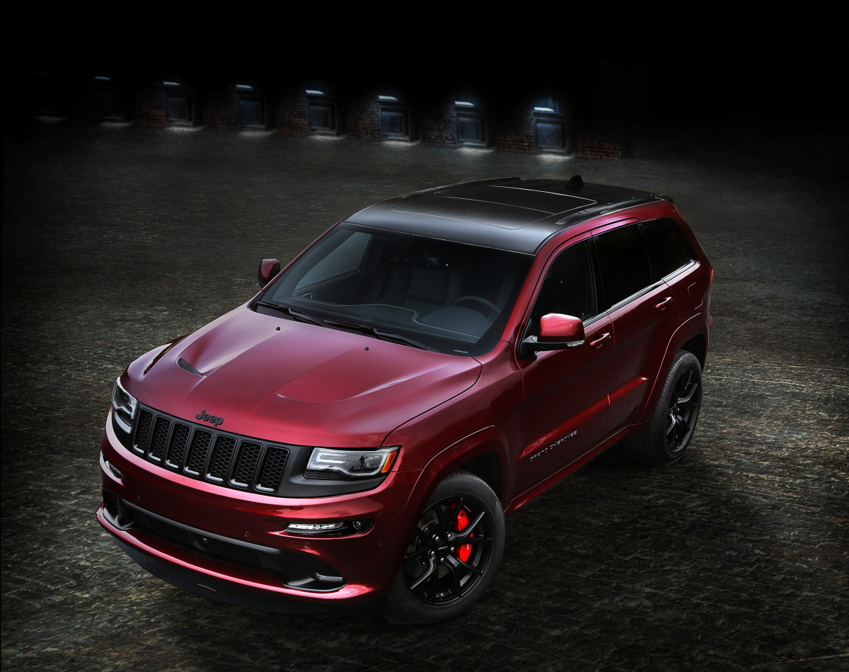 Jeep's most powerful SUV receives some stealthy trim updates with the SRT Night Edition