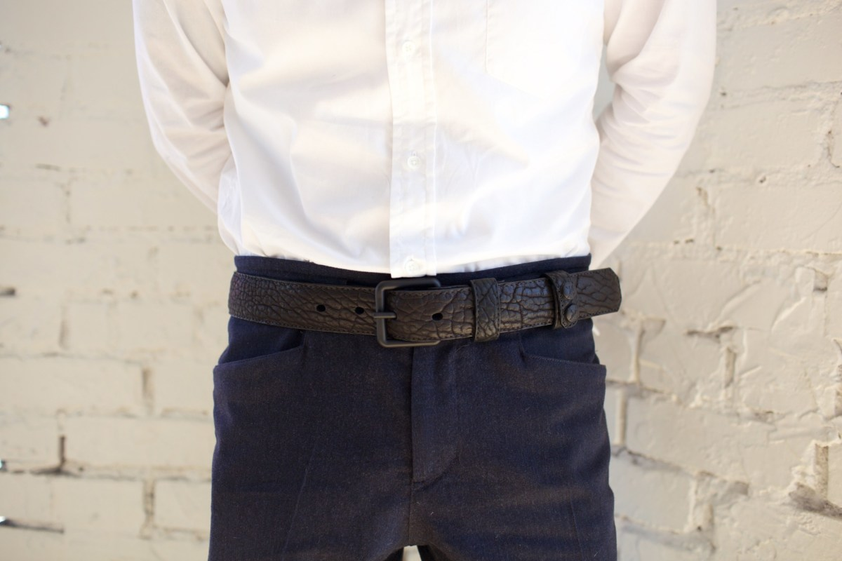Parabellum releases a new (and much more affordable version) of their Peacemaker Belt