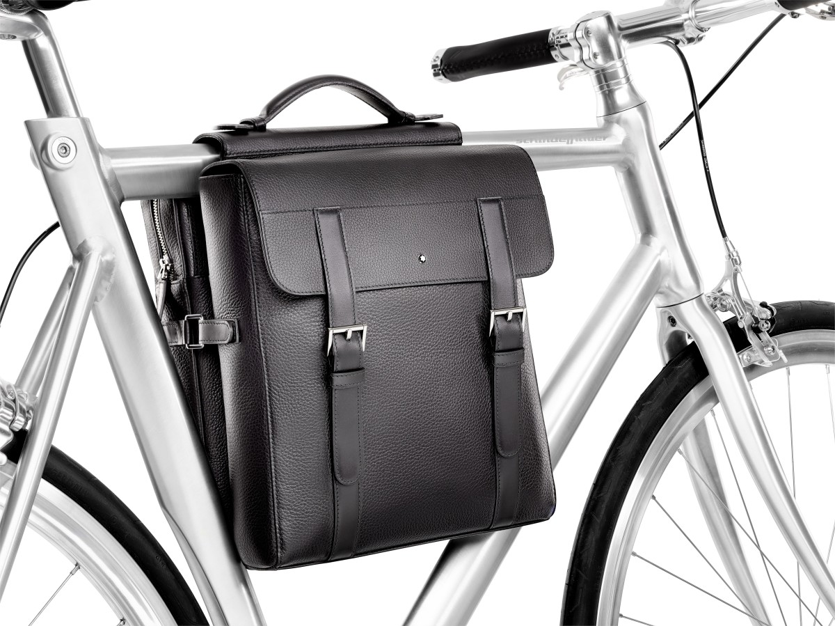 Montblanc puts luxury on two wheels with its new pannier