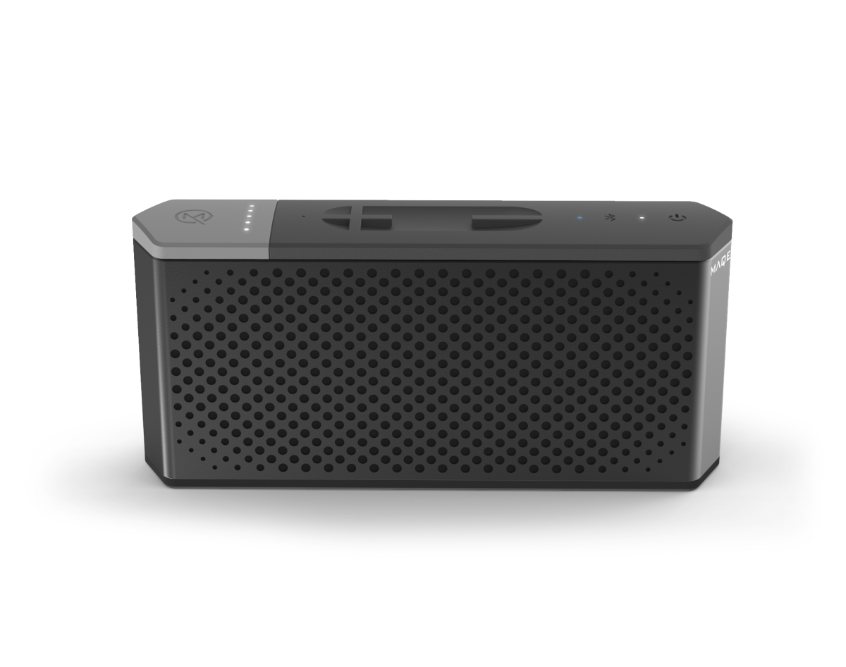 maqe keeps the party going and going with their soundjump wireless speaker acquire. Black Bedroom Furniture Sets. Home Design Ideas