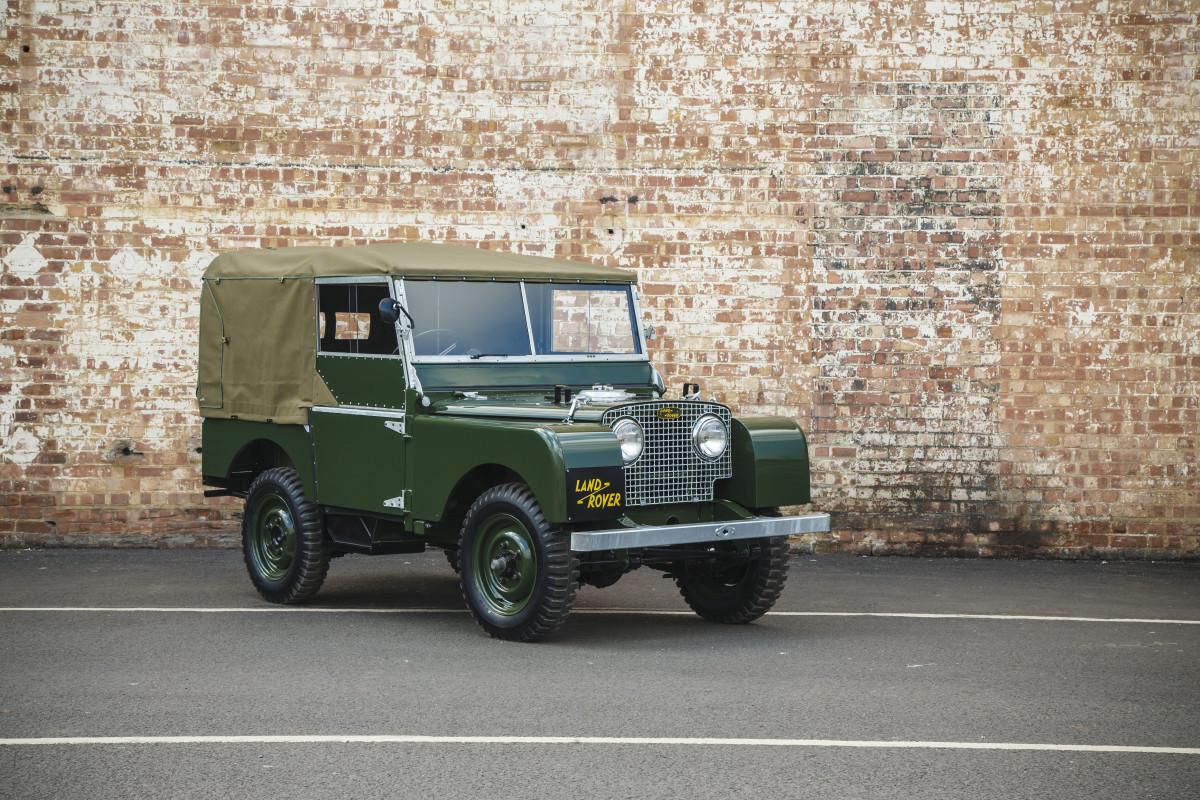 Photo: Land Rover