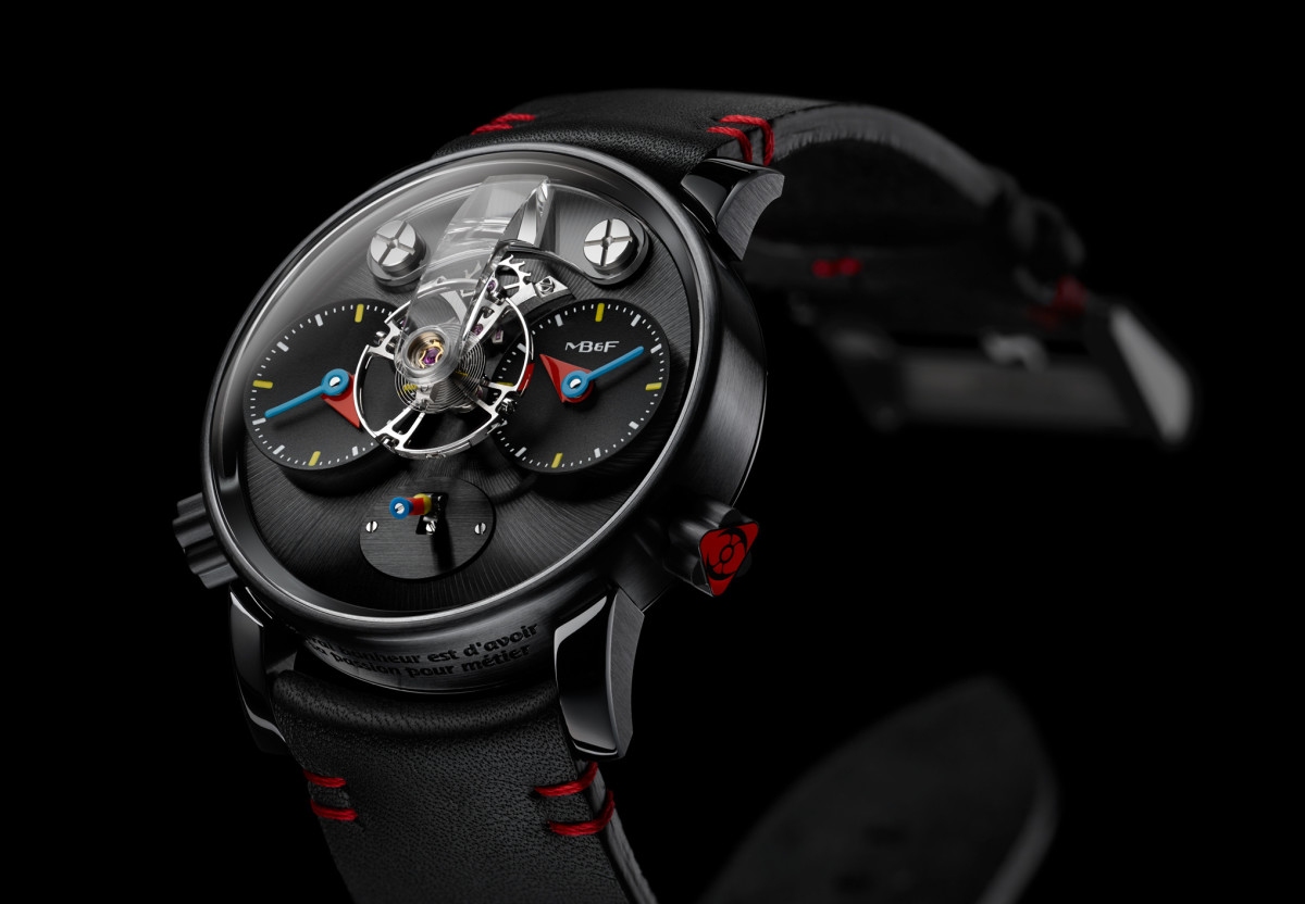 MB&F creates wearable art with their LM1 by Alain Silberstein