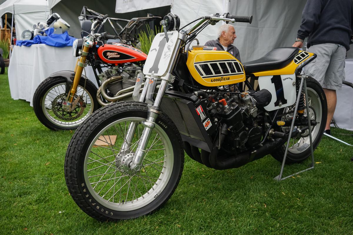Formula 750 Group – 1976 Yamaha TZ750 of Jeff Palhegyi