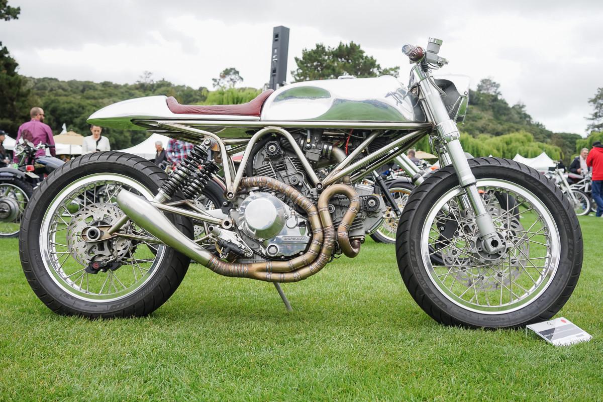 "Industry Award – 1997 Revival Ducati Revival Full Custom ""J63"" of Revival Cycles"