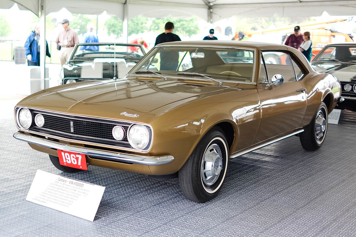 The very first Camaro from 1967.