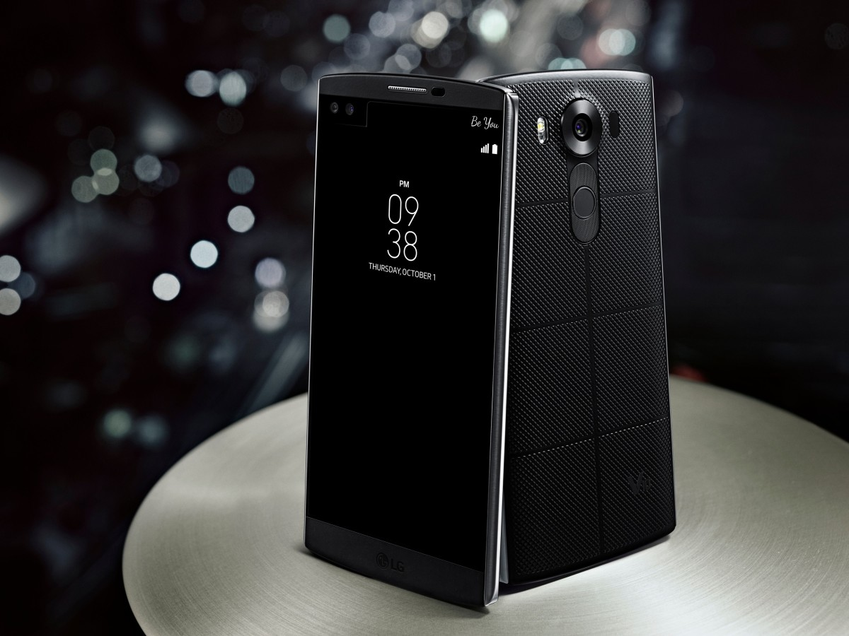 The newest Android phone to rule them all, the LG V10