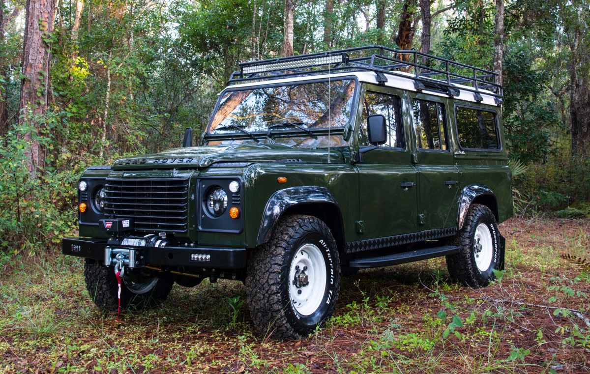 Defender 110 LS3 Engine