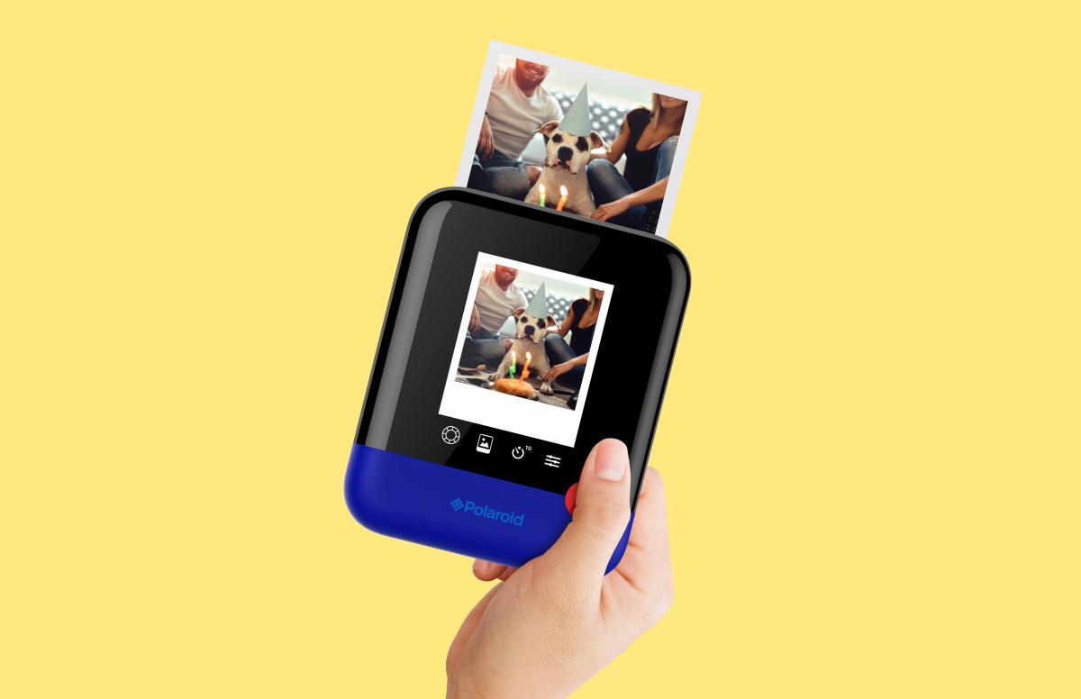 Polaroid Pop camera in Hand