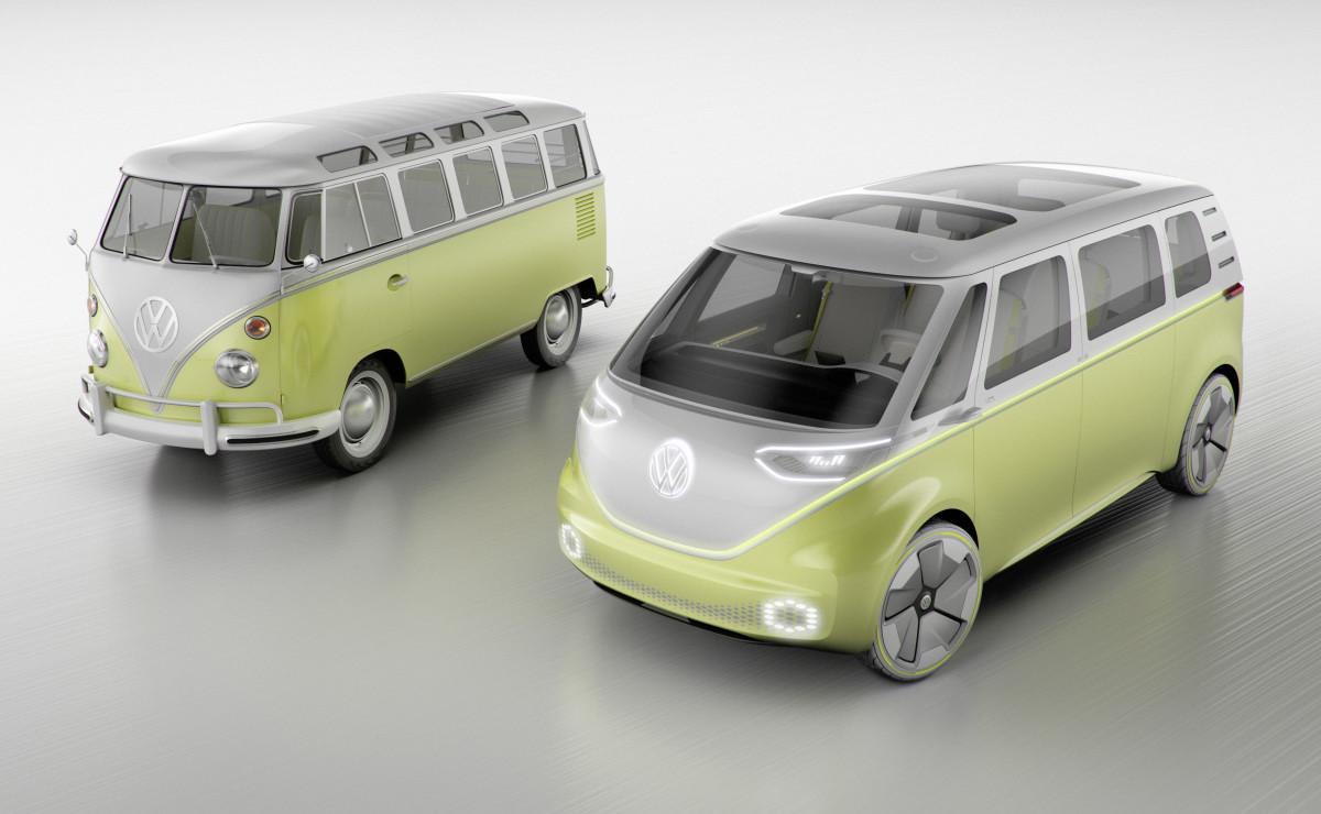 VW Microbus Generations