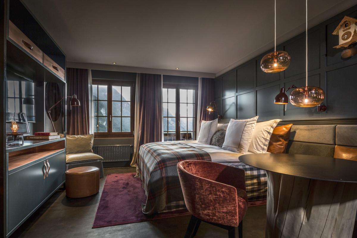 Huus Gstaad Room