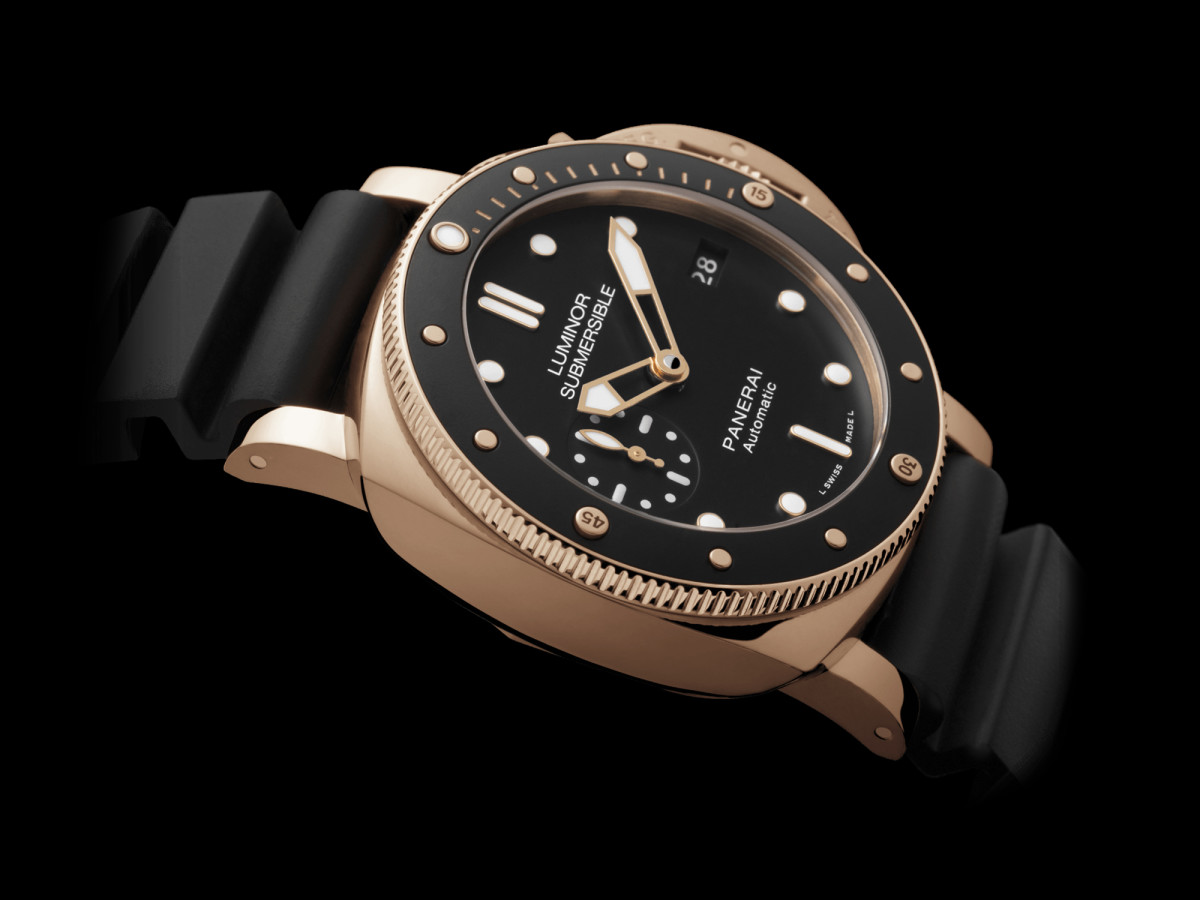 Panerai Rose Gold