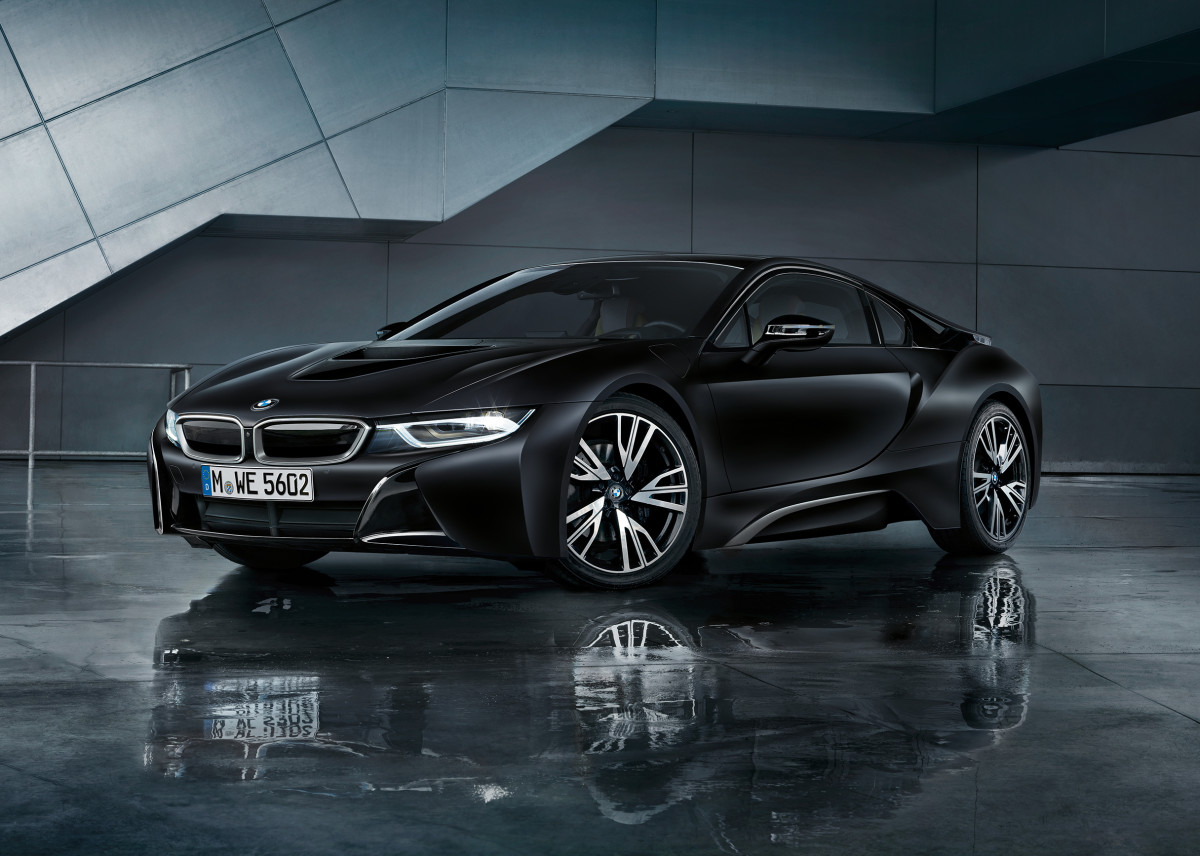 BMW i8 Frozen Black Edition