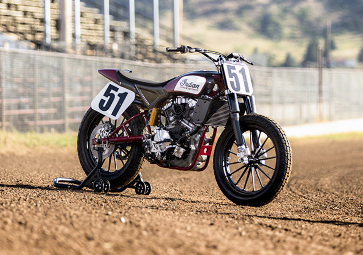 Indian Flat Track Scout
