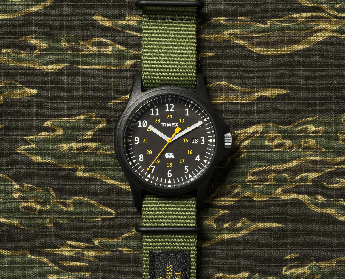 Carhartt Wip Releases Military Inspired Field Watch With