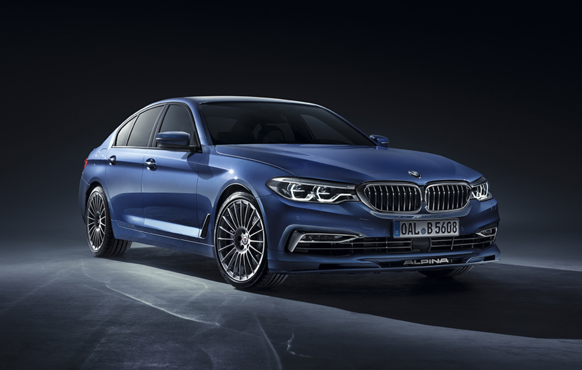 Alpina Adds Some Serious Speed To Bmw S New 5 Series Acquire