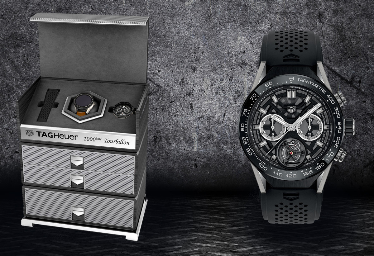 Tag Heuer 100th COSC certified Tourbillon