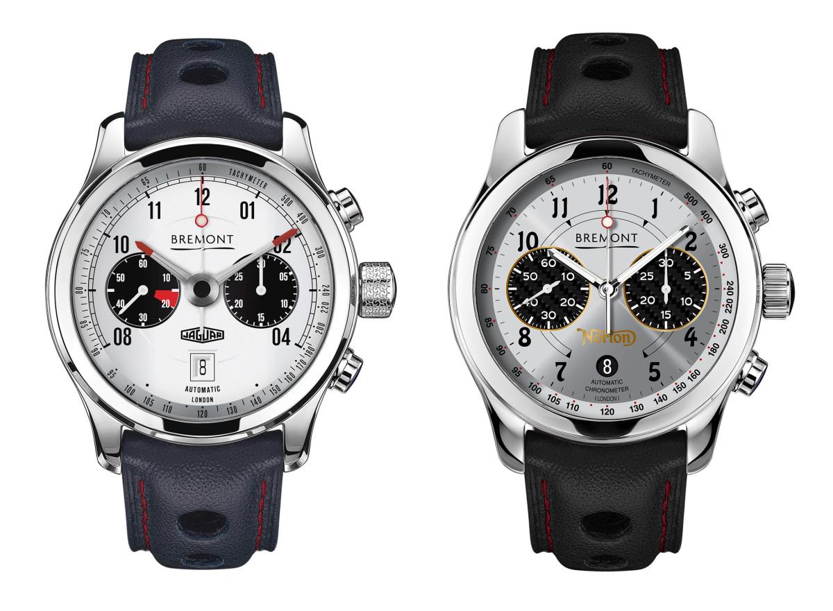Bremont Jaguar and Norton