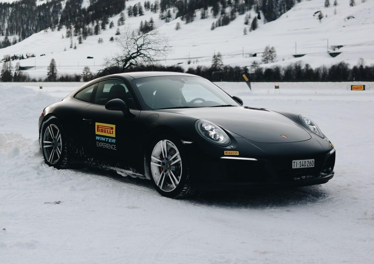 Porsche Pirelli Winter Driving Experience
