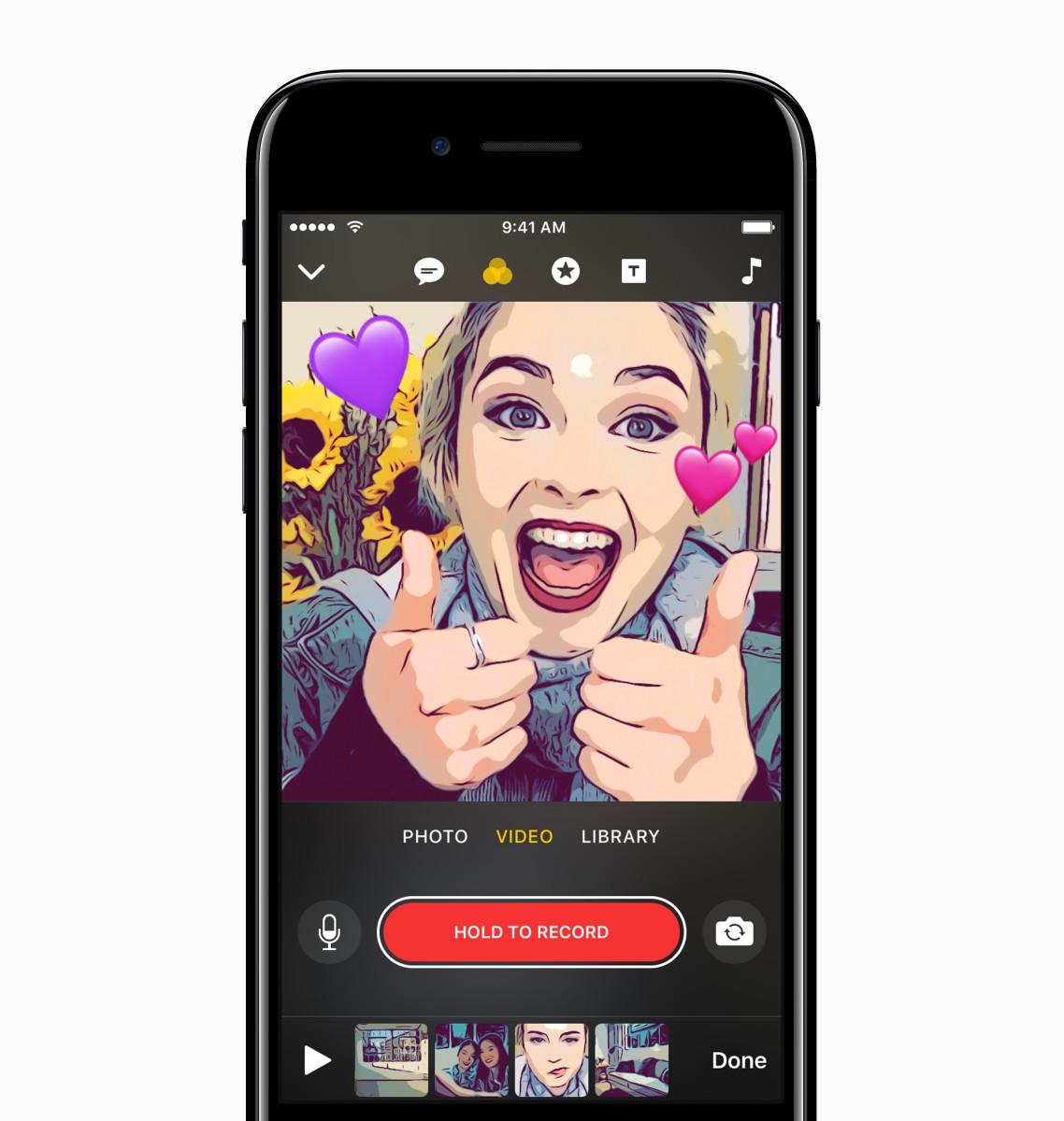 Apple Clips App