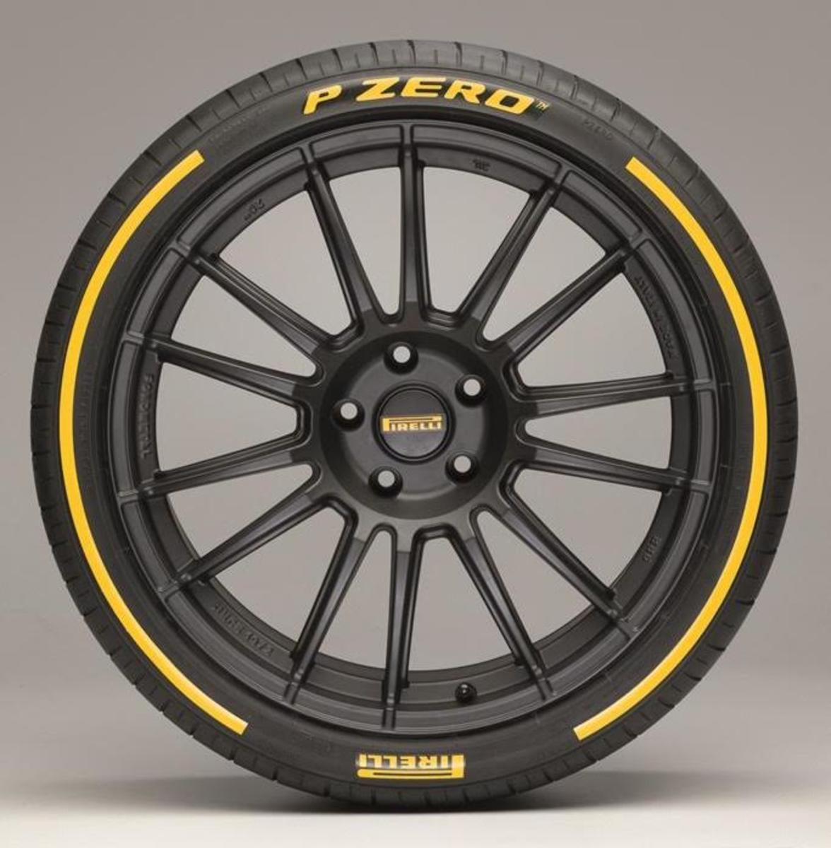 Pirelli releases their P Zero in a variety of colors