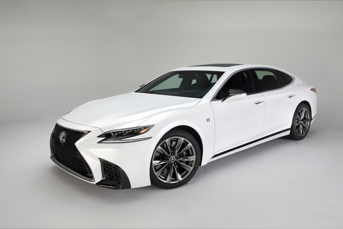 Lexus Adds An F Sport Model To The 2018 Ls Lineup