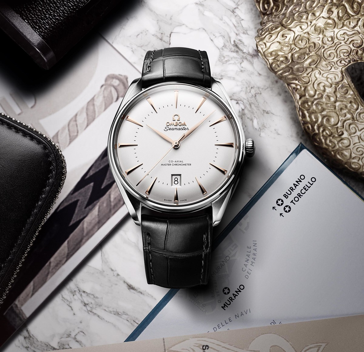 Omega descends upon the floating city of Venice for its latest Seamaster