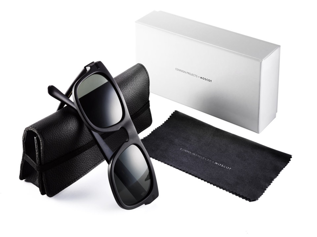 Common Projects x Moscot