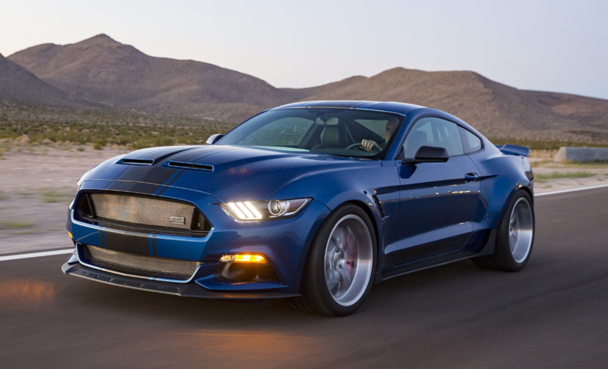 Shelby 50th Anniversary Widebody Super Snake Concept