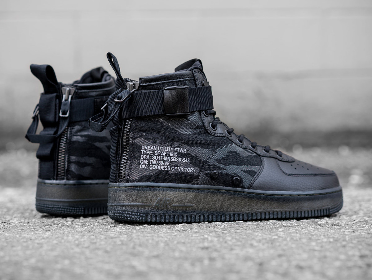 nike 39 s tactical inspired special field air force 1 gets a. Black Bedroom Furniture Sets. Home Design Ideas