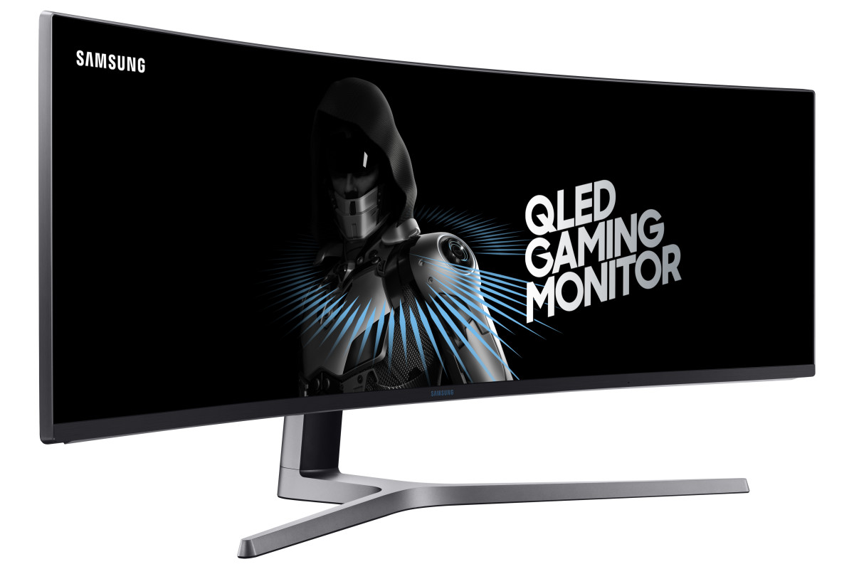 Samsung 49-inch QLED Monitor