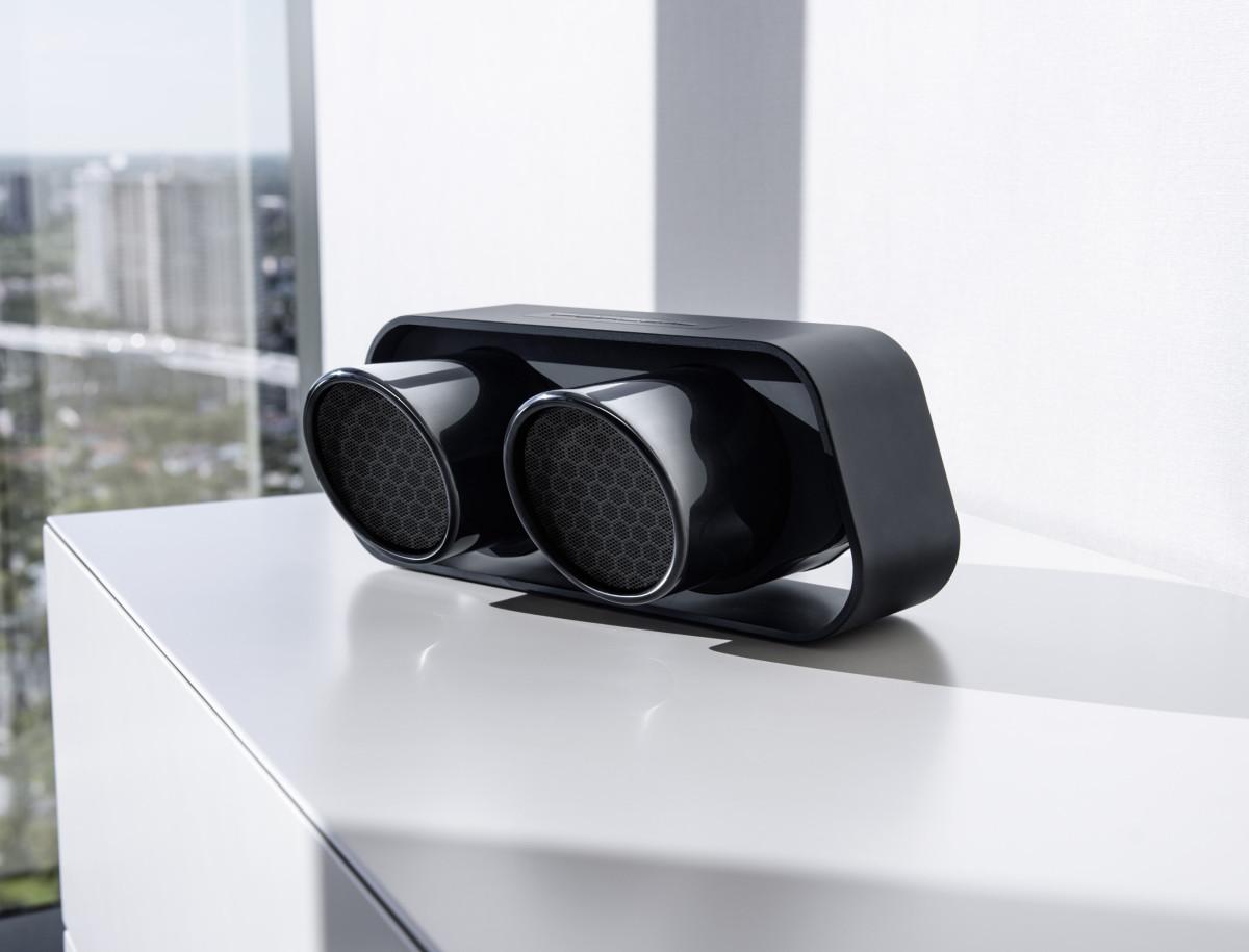 The 911 Gt3 Inspires A Bluetooth Speaker By Porsche Design