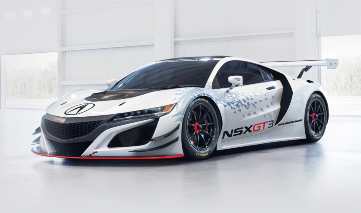 Acura NSX GT3 Front