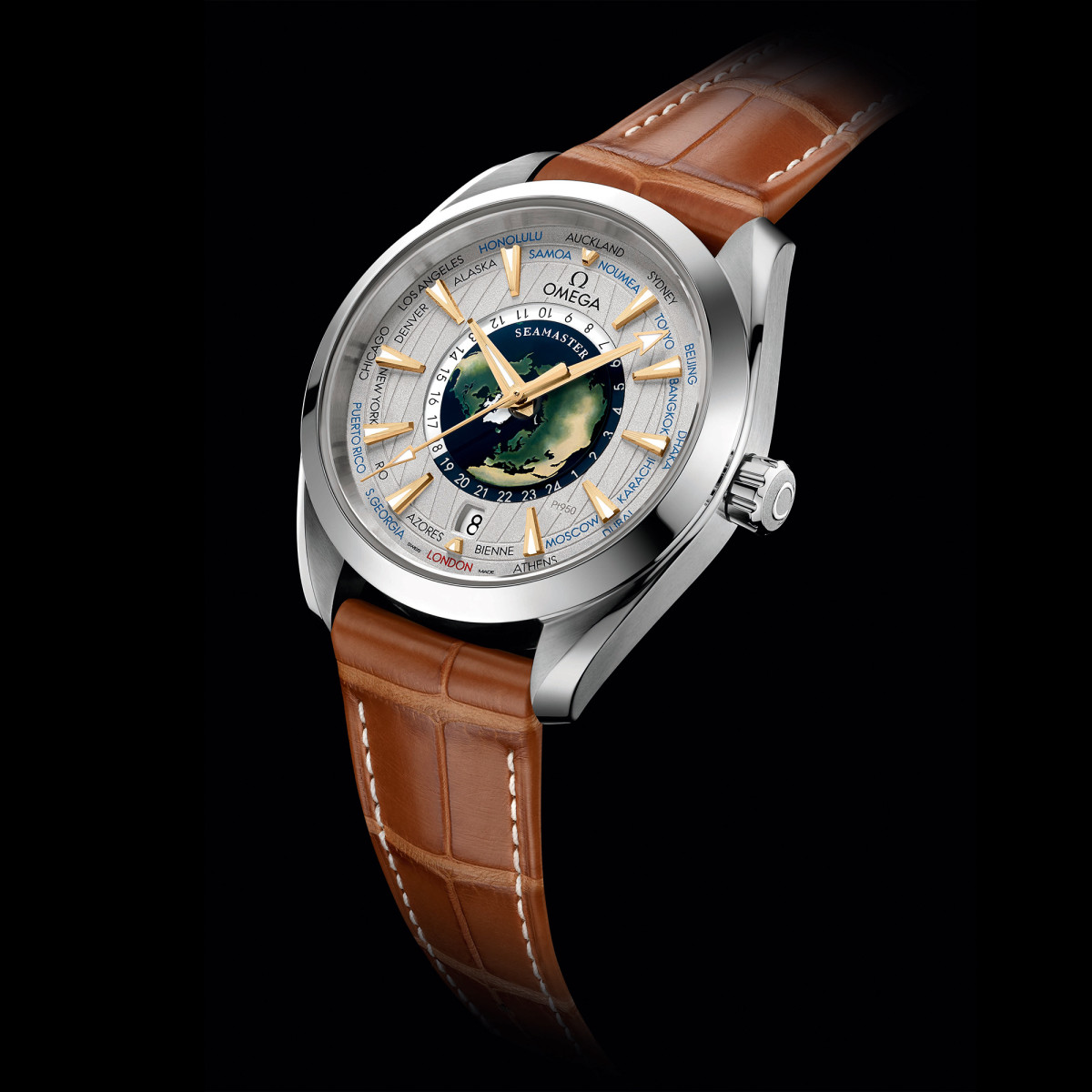 Omega Seamaster Aqua Terra World Timer