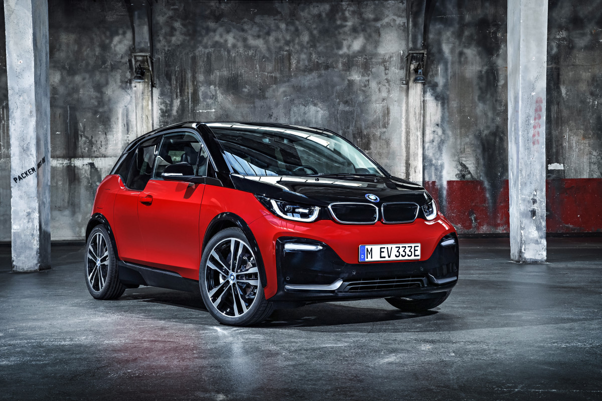 bmw 39 s i3 refresh gains a sporty new model acquire. Black Bedroom Furniture Sets. Home Design Ideas