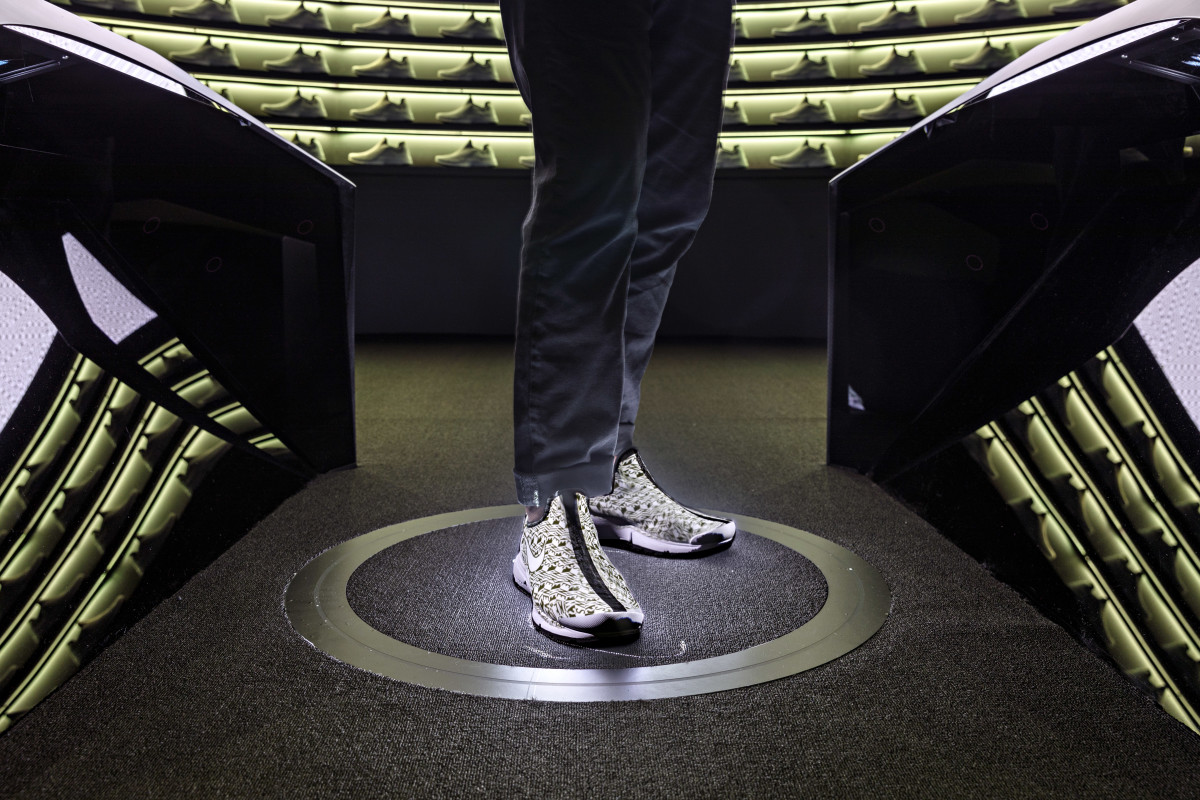 Nike Makers Experience Shoe Shot