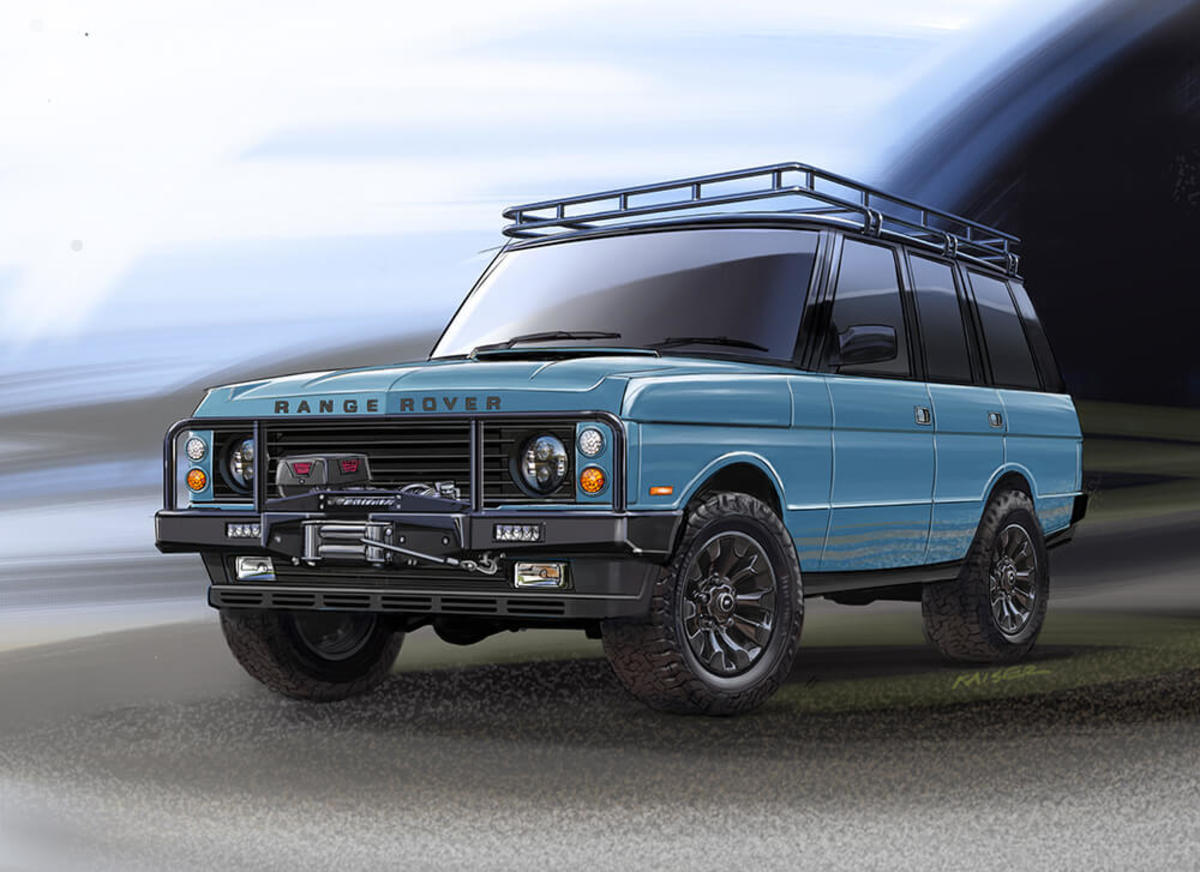 East Coast Defender Range Rover Classic