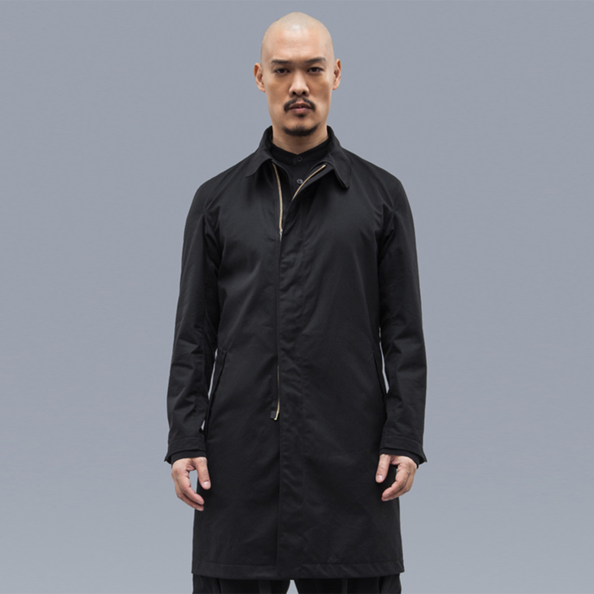 Acrnoym Garbardine Coat