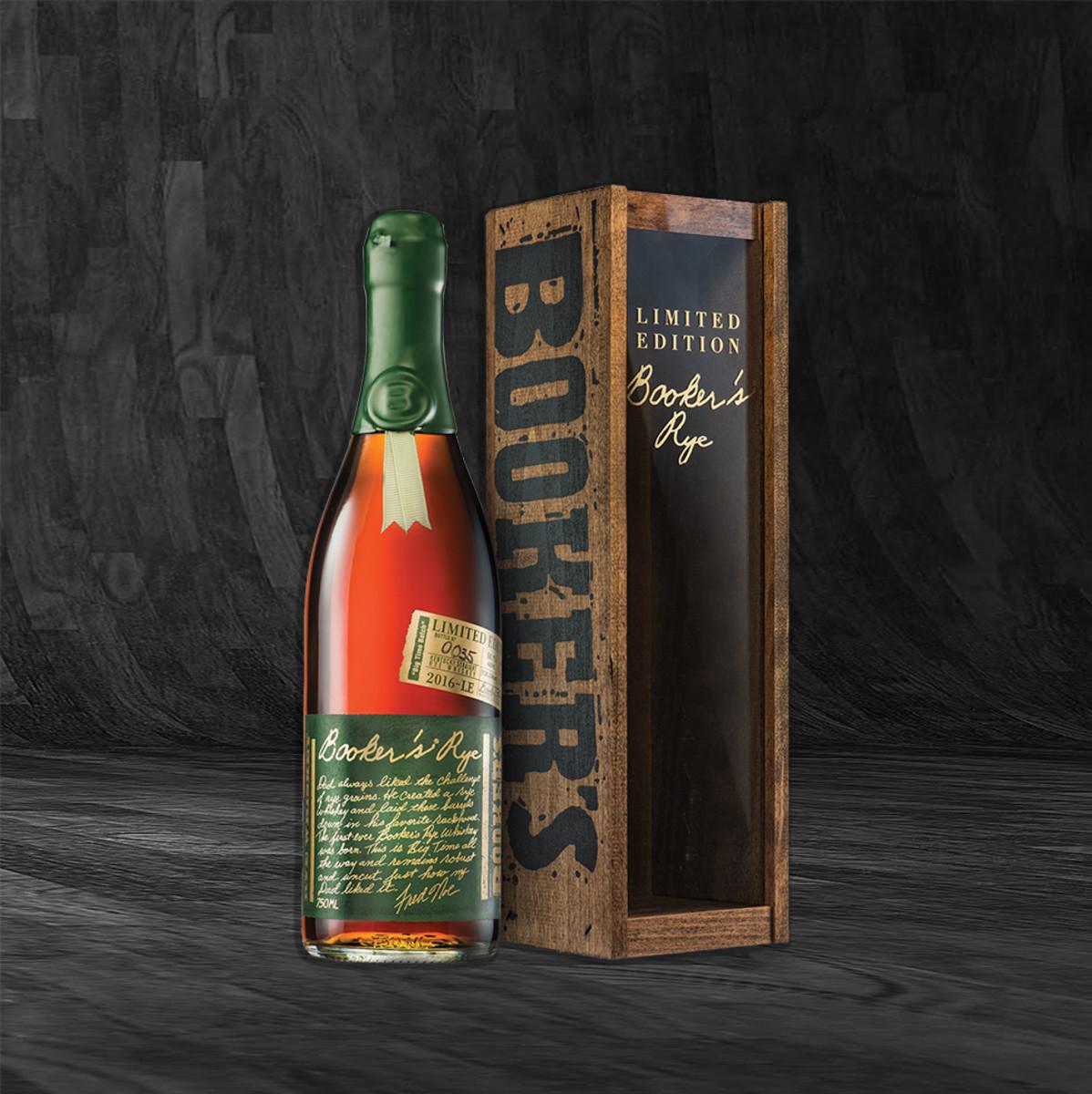 Booker's Rye Whiskey