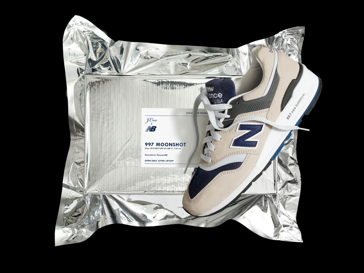 New Balance J.Crew Moonshot 997