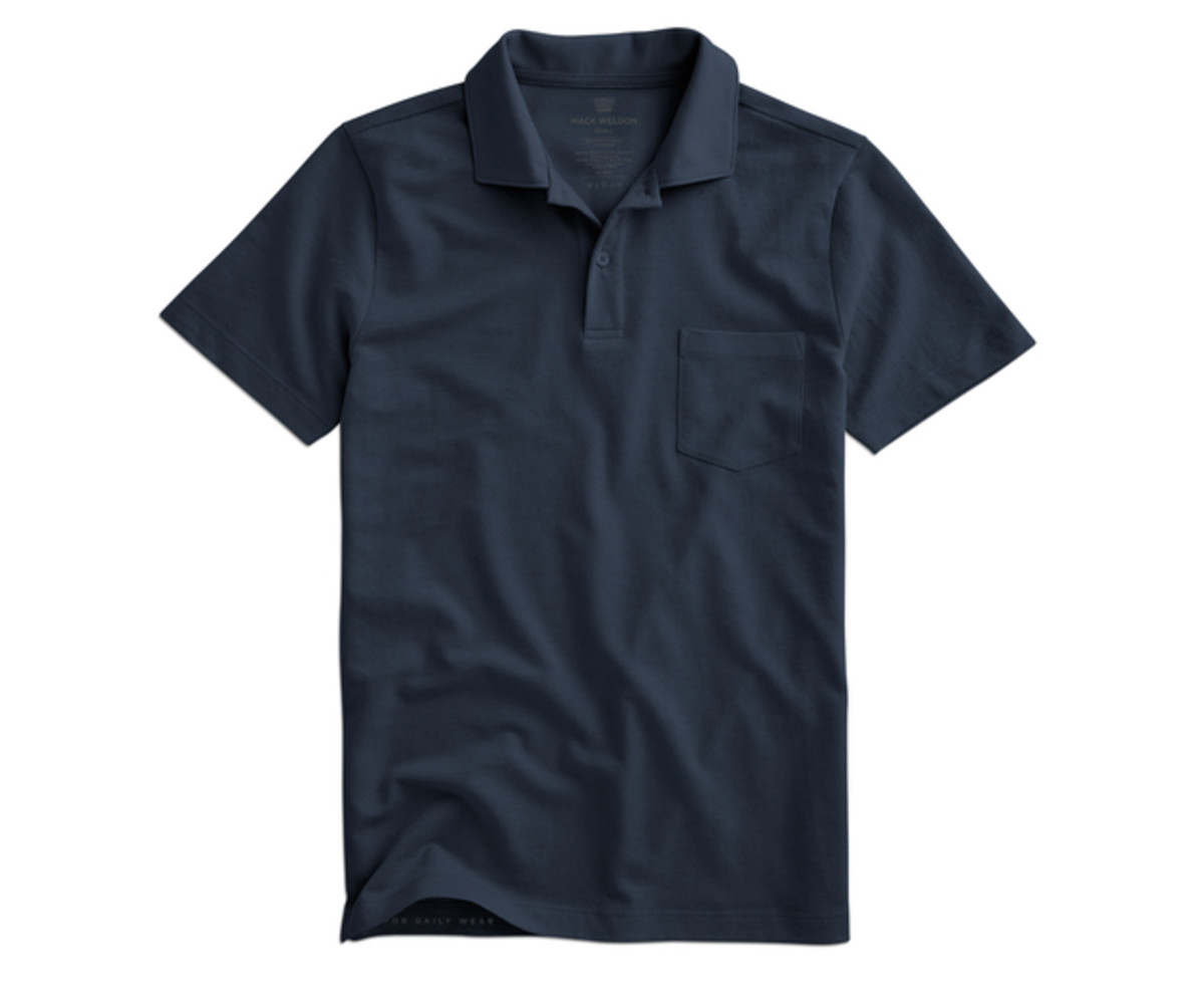 Mack Weldon Mesh Polo Shirt