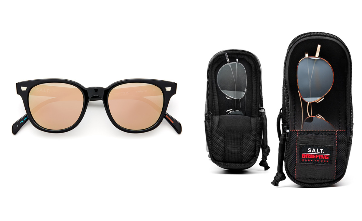 Salt Sunglass with Briefing Case