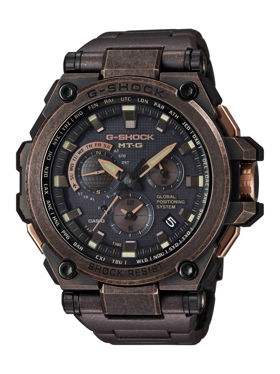 G-Shock MT-G Aged Rose Gold
