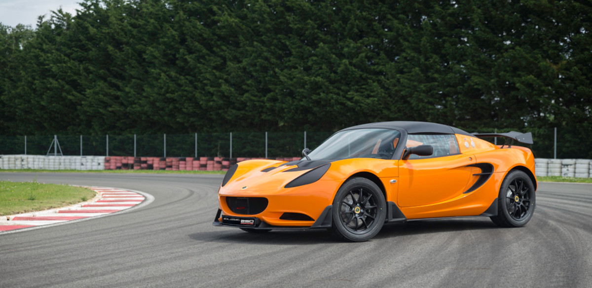 Lotus Elise Race 250 Side