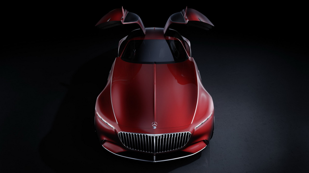 The Vision Mercedes-Maybach 6 sets the bar for Grand Tourers
